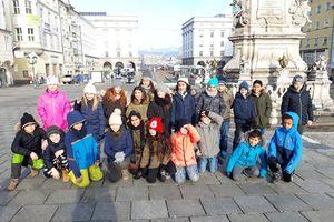 Wir erkunden den Linzer Hauptplatz