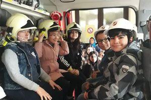 Die Feuerwehr zu Besuch
