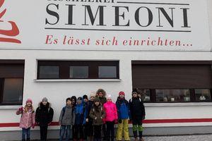Besuch in der Tischlerei Simeoni