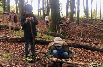 Zu Besuch in der Waldschule in Wilhering