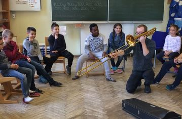 Musikworkshop mit Christoph
