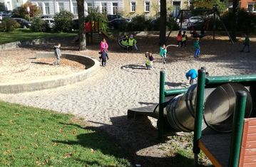 Ausflug zum Andreas-Hofer Spielplatz