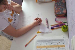 Wir lernen und arbeiten zu Hause!