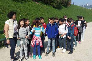Besuch beim Bürgermeister und anschließendem Lehrausgang zum Linzer Schloss