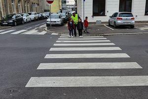 Verkehrserziehung mit der Polizei
